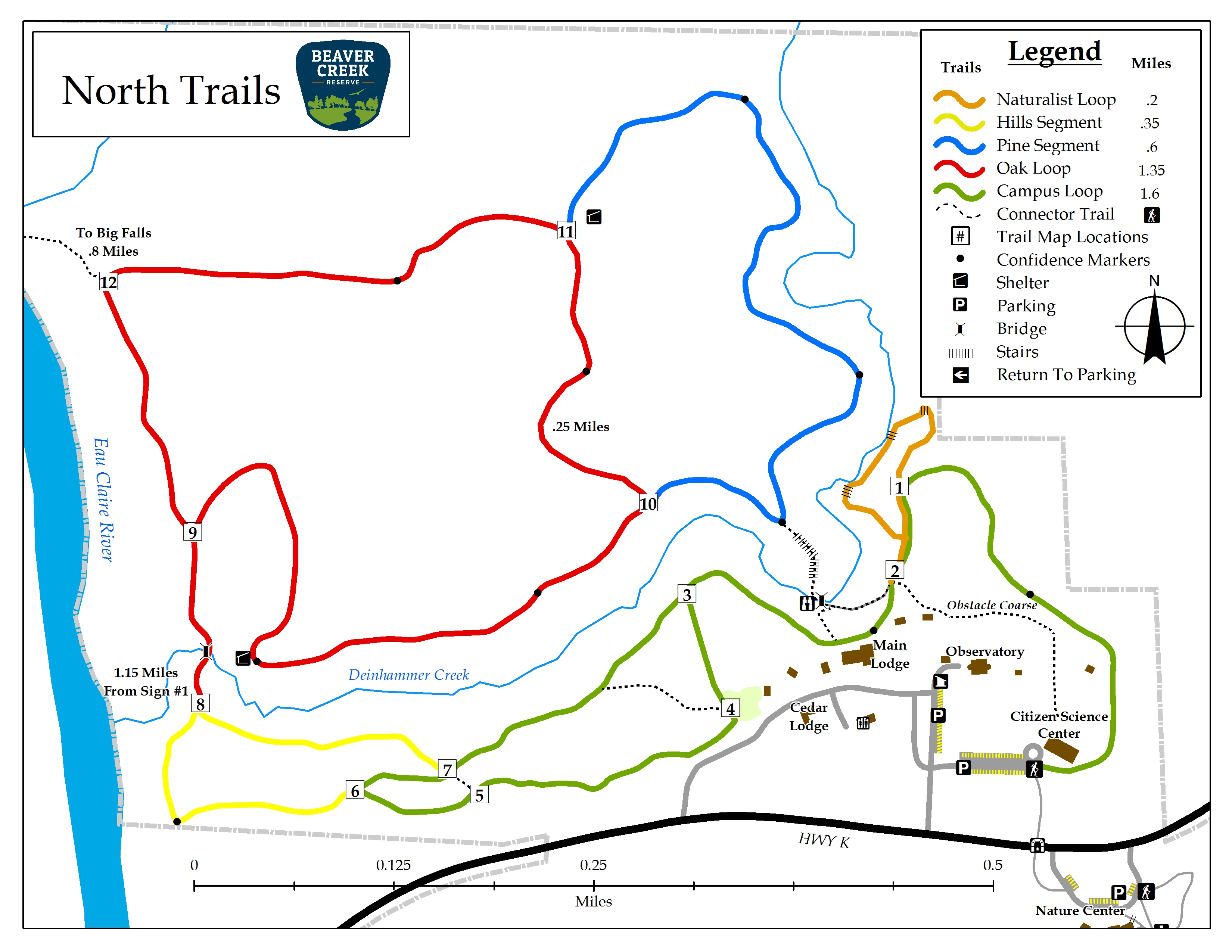 Trails & Maps at Beaver Creek Reserve | Wisconsin Nature Reserve on